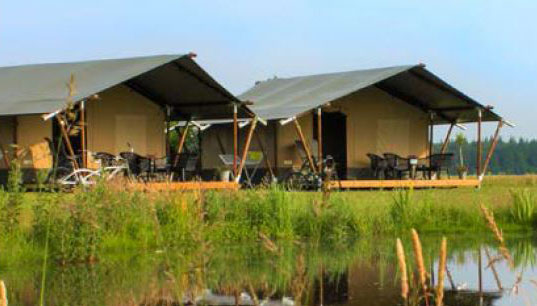Safaritenten camping Pasveer